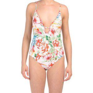 Sunny Sandiego Tropical One-piece Swimsuit NWT